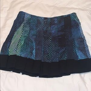 NWOT Proenza Schouler silk pleated skirt